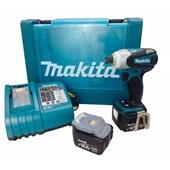 Parafusadeira de Impacto a Bateria 14,4v BTD132RFE 220v Makita