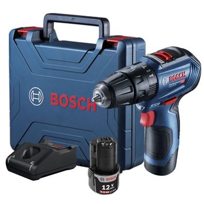 Parafusadeira e Furadeira 12V 2.0Ah 2 Bateria GSB 12V-30 Bosch
