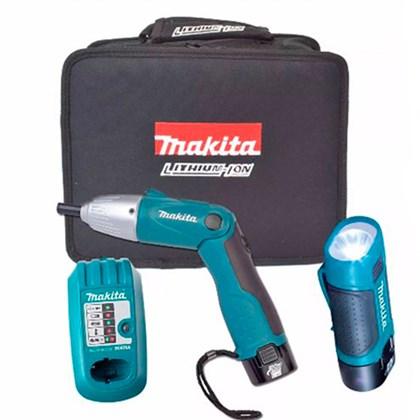 Parafusadeira e Furadeira Articulável à Bateria 7,2v DF011DSL Makita