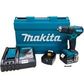"""Parafusadeira Furadeira de Impacto 1/2"""" a Bateria 18v DHP483RFE Bivolt Makita"""
