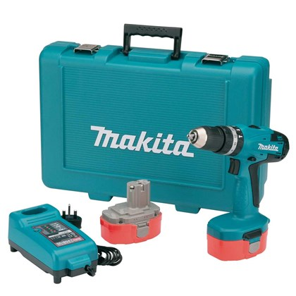 Parafusadeira Furadeira de Impacto à Bateria 3.8 Pol. 14,4v Makita