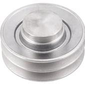 Polia de Alumínio 2 canais A 100 mm Vonder