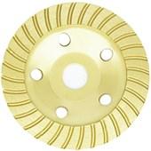 Rebolo Prato Diamantado P/ Concreto 4.1/2 115mm Turbo Strong