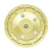 """Rebolo Prato Diamantado Segmentado Desbaste 4.1/2"""" 115mm Rosca M14 Strong"""