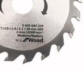 Serra Circular de Widia  4.3/8 x 20 - 110mm Dentes Bosch