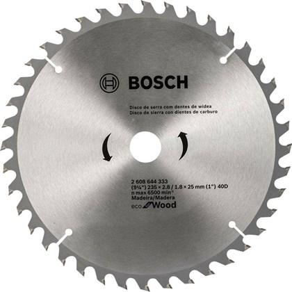"""Serra Circular de widia 9.1/4""""x 40  235MM Dentes Bosch"""