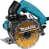 Serra Mármore 125mm 1.450W com Coletor de Pó 4100KB Makita