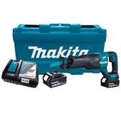 Serra Sabre A Bateria 18v com 2 Baterias DJR187RFE Makita