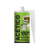 Silicone Acético Cinza 280ml  EXP0509.0403 Unipega